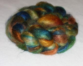 """Fine Quality Mohair Roving with 10% Wool Top """"Tripoly"""" 4.05oz"""