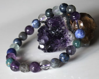 Weight Loss Bracelet , Health Improvement Healing Crystal Bracelet  / Boost Metabolism /  Reduce Appetite / Support with Food Addictions /