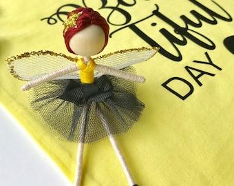 fairy doll, ballerina, flower fairy doll, fairy dolls, flower crown, fairy, flower fairy, flower fairies, hello precious gifts