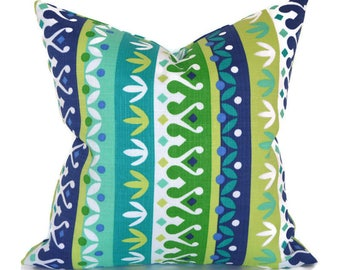 Outdoor Pillows ANY SIZE Outdoor Cushions Outdoor Pillow Covers Decorative Pillows Outdoor Cushion Covers Best Pillow OD Cotrell Lagoon