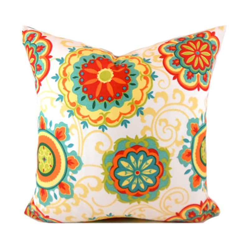 Indoor Outdoor Pillow Covers ANY SIZE Decorative Pillows