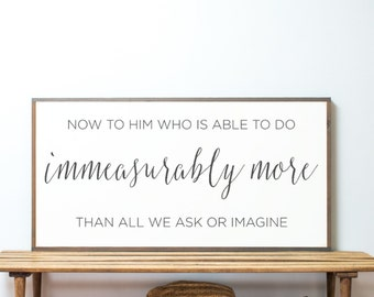 Immeasurably More 4x2