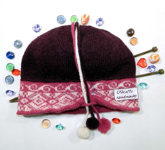 Winter knit hat gift for women women winter hats women