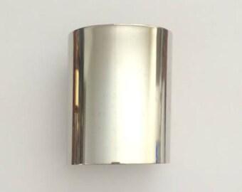 """1 Silver Cuff, 3"""" wide, Wide Cuff, Bracelet, Bangle"""