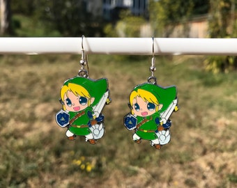 "Link ""The Legend of Zelda"" earrings"