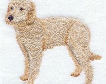 Labradoodle Embroidered Towel | Flour Sack Towel | Linen Towel | Dish Towel | Kitchen Towel | Hand Towel | Embroidered Dog