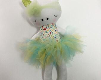 Unicorn, unicorn doll, ballerina, unicorn ballerina, stuffed animal, play doll