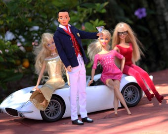 THE GOOD LIFE- Barbie and Friends Fine Art Photography