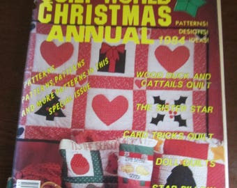 Quilt World Christmas Annual 1984