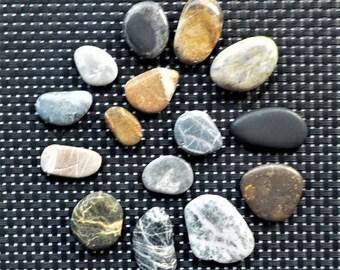 Beautiful Polished Australian Beach Stones 3.79 oz