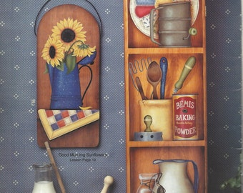 Havest Moon Antiques Vol 1 by Julie Kuehn Tole Painting Book FI0281