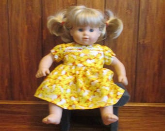 "Bitty Baby Dresses (fits any 15"" doll)"