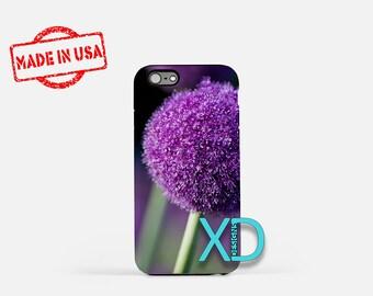 Allium iPhone Case, Flower iPhone Case, Allium iPhone 8 Case, iPhone 6s Case, iPhone 7 Case, Phone Case, iPhone X Case, SE Case Protective