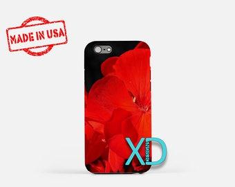 Geranium iPhone Case, Flower iPhone Case, Geranium iPhone 8 Case, iPhone 6s Case, iPhone 7 Case, Phone Case, iPhone X Case, SE Case