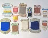 Vintage Sewing Thread Cards