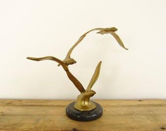 Brass Seagulls