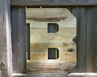 pallet wood wall art large wood letters rustic home decor 24 tall wood letter reclaimed wood wedding nursery decor huge letters