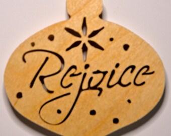 Ornament Rejoice