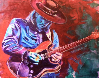 Stevie Ray Vaughan Etsy