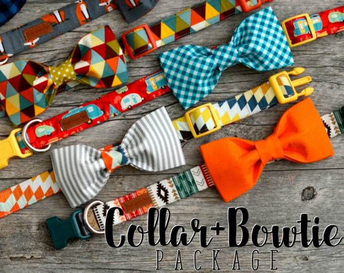 Featured listing image: Any Collar + Bowtie Package