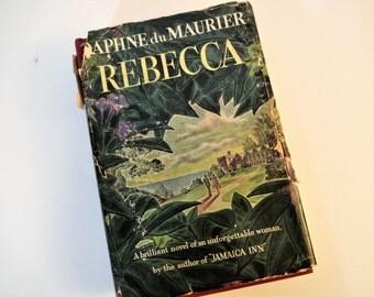Rebecca - Daphne du Maurier -Garden City Publishing - 1940 - Hardbound with Dust Jacket - Copy No. 415,780 - Facsimile Signatures