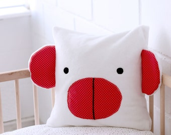 RED MONKEY Cushion, Pillows for kids - Deco Kids