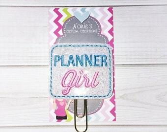 Planner Girl Paper Clip - Planner Girl Paperclip- Planner Clip -Planner Accessories -Planner Girl Clip- Planner Girl Feltie