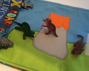 Dinosaur Play Mat Etsy
