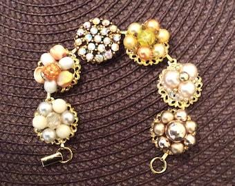 Elegant Vintage Earring Bracelet