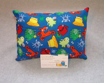Mastectomy pillow, Pacemaker, seat belt pillow, Chemo Port, Breast Cancer pillow, G tube pillow, Porta pillow, IV pillow, monsters