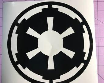 Imperial Vinyl Decal Sticker
