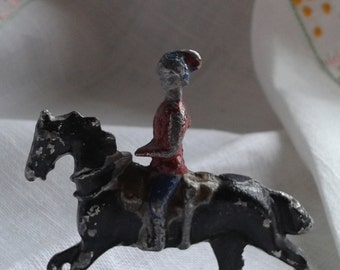 Horse and Rider Vintage Britains Toy