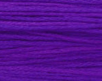 2329 Purple Majestic - Weeks Dye Works 6 Strand Floss