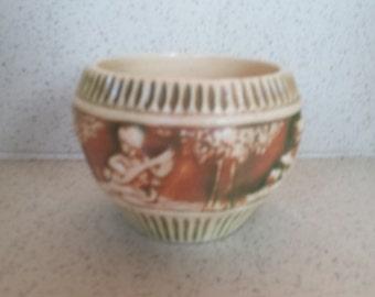 Roseville Pottery Donatello Vase
