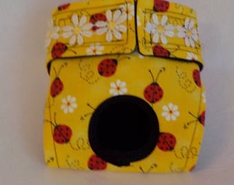 Female Dog Panties - Dog Clothes - Custom Dog Diaper - Pet Clothes - Ladybugs  - Doggie Diapers - Dog Britches - Small Dog Harness