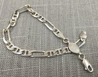 Vintage Italy 925 Sterling Silver Bracelet!!!!