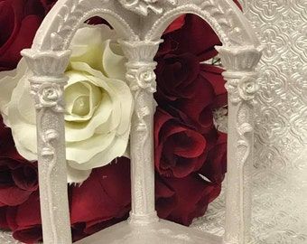 Wedding Cake Topper Gazebo Arch
