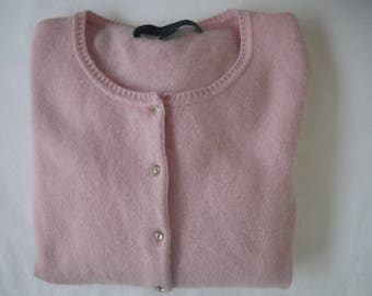 Vintage Pink Cashmere Sweater