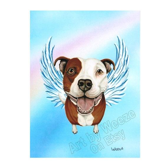 Pit Bull Angel Pit Bull Pit Bull Art Pit Bull Terrier