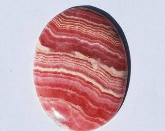 Rhodochrosite Cabochon - Pink Gemstone Cabochon - Natural Stone cabochon - Designer Cabochon - Oval Cabochon - Pink Cabochon - Gemstone