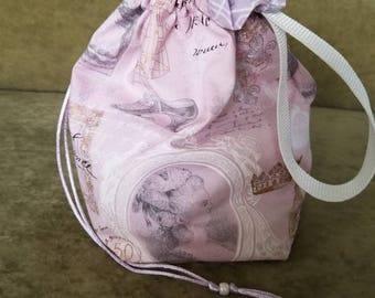 Marie Antoinette1 To 2 Skein Reversible Drawstring Bag 4 Looks In 1 Bag