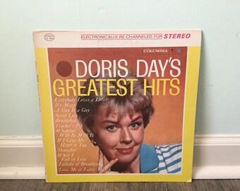 """Doris Day """"Doris Day's Greatest Hits"""" vinyl record"""