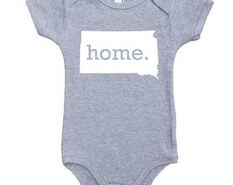 Homeland Tees South Dakota Home Unisex Baby Bodysuit