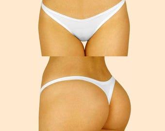 White Classic Swimwear
