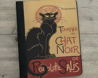 iPad - iPad Air - iPad Mini - Case - Chat Noir -  Vintage French Poster