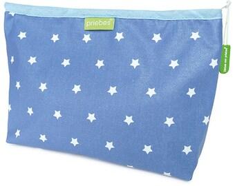 Denim diaper bag MARIECHEN stars