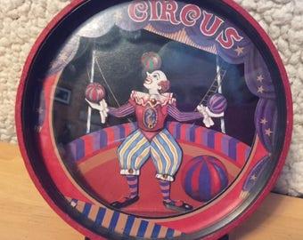 Otagiri wind-up musical dancing clown bank