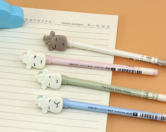 Lucky Baby Sheep Gel Pen .5mm Black P5361S