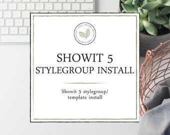 Showit 5 Template Installation - Showit Style Group Installation - Photography Website Design - Showit Website