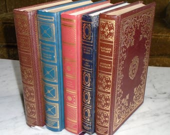 International Collectors Library Madame Bovary Hunchback David Copperfield Walden & Cheaper By The Dozen